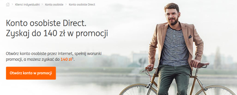 ING Bank Śląski, Konto Direct