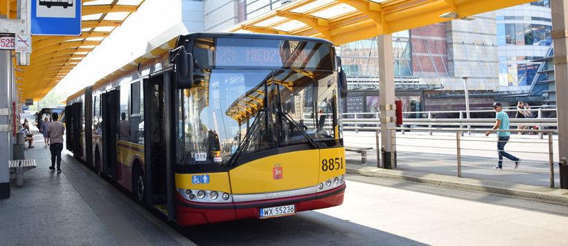 Komunikacja miejska, autobus w Warszawie