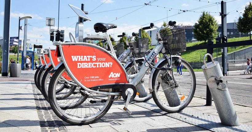 Rower miejski w Krakowie